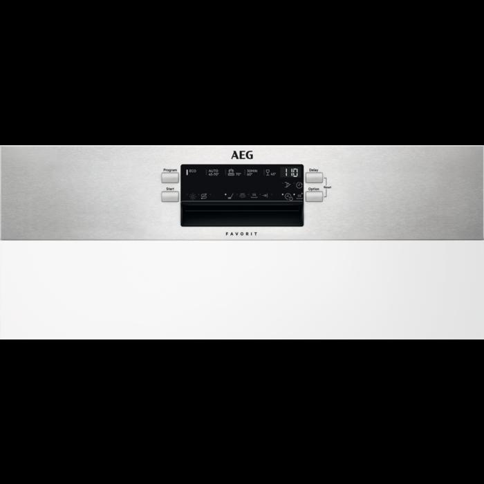 AEG - Einbau Geschirrspüler, 60cm - FEB52610ZM