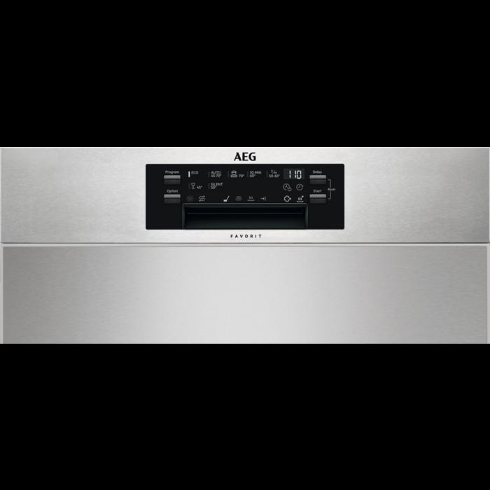 AEG - Einbau Geschirrspüler, 60cm - FUE73600PM