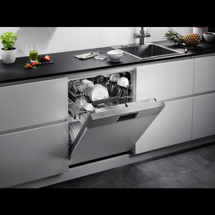 AEG - Einbau Geschirrspüler, 60cm - FES5261XZM