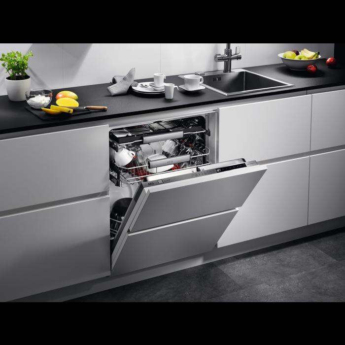 AEG - Einbau Geschirrspüler, 60cm - FSE83700P