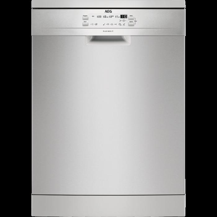 AEG - Freestanding dishwasher - FFB53600ZM
