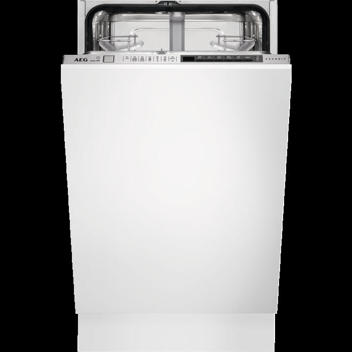 AEG - Integrated slimline dishwasher - FSK73400P