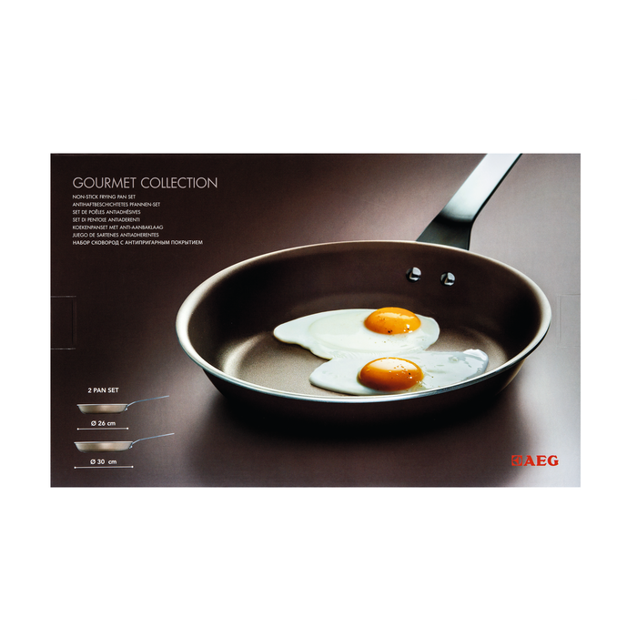 AEG - Non-stick frying pan set - A9ALFPS1