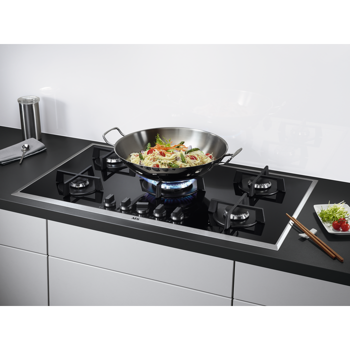 AEG - Table de cuisson au gaz - HG995550XB