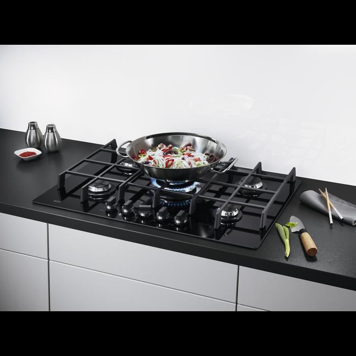 AEG - Table de cuisson au gaz - HG674550VB