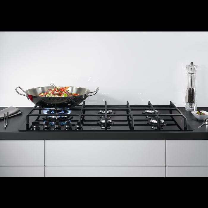 AEG - Table de cuisson au gaz - HG975550VB