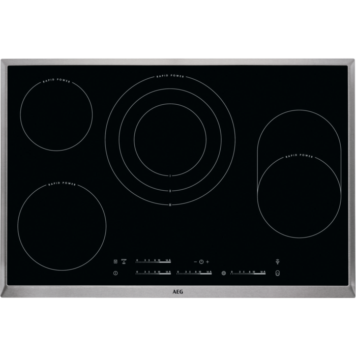 AEG - Strahlungsbeheizte Kochfelder - HKC85487XB