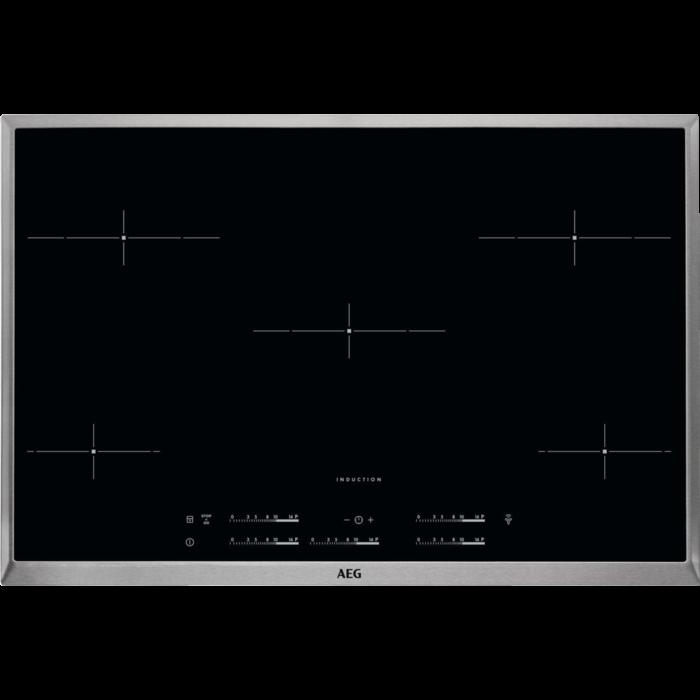 AEG - Table de cuisson à induction - HKM85510XB