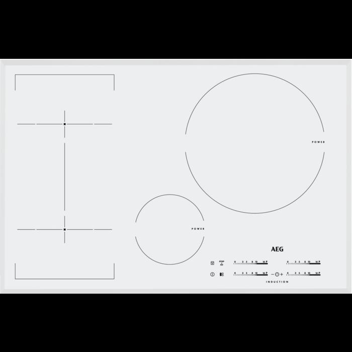 AEG - Piano cottura ad induzione - HKL85246FW