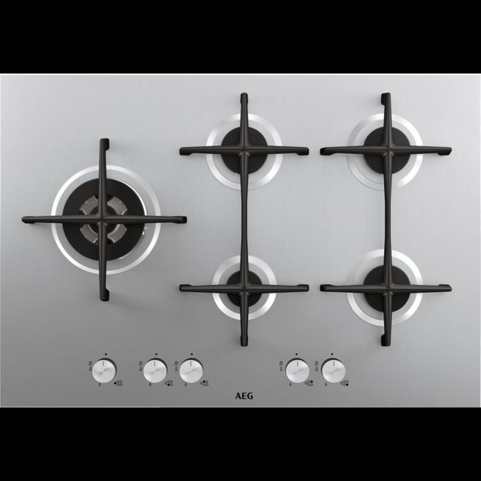 AEG - Table de cuisson au gaz - HG755521UM