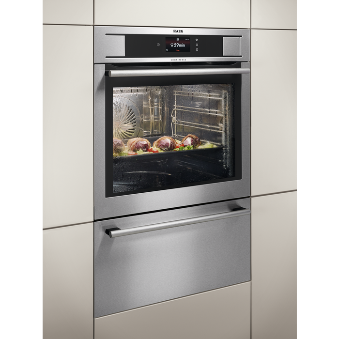 AEG - Steam oven - BS836680KM