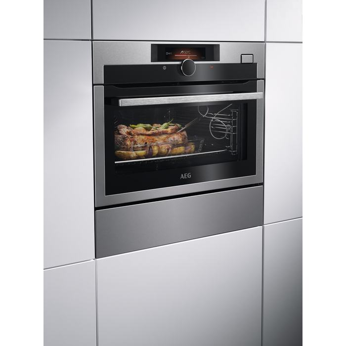 AEG - Steam oven - KSE882220M