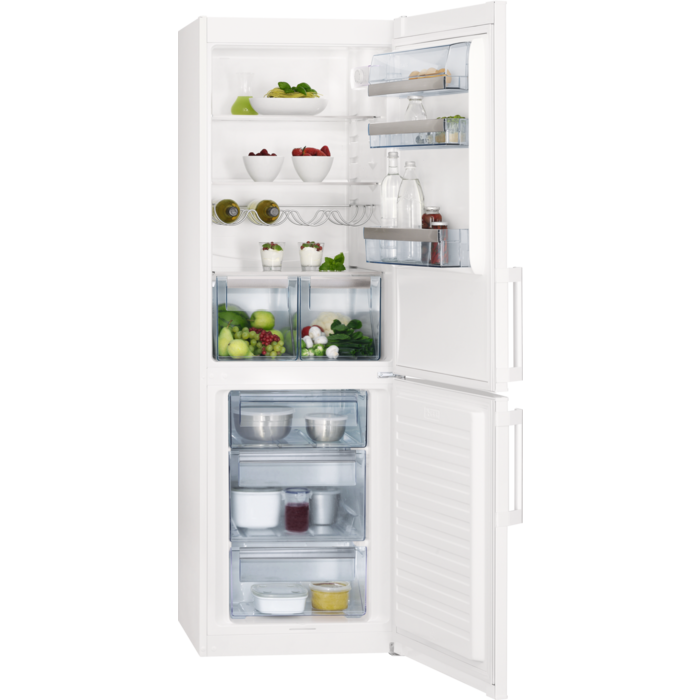 AEG - Freestanding fridge freezer - Free-standing - S53620CSW2