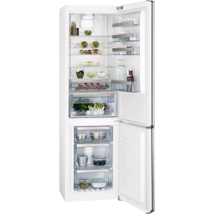 AEG - Freestanding fridge freezer - Free-standing - S83920CMW2