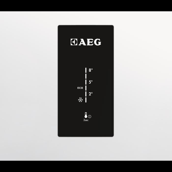 AEG - Laisvai pastatomas šaldytuvas su šaldikliu - Laisvai statoma - S53620CTX2