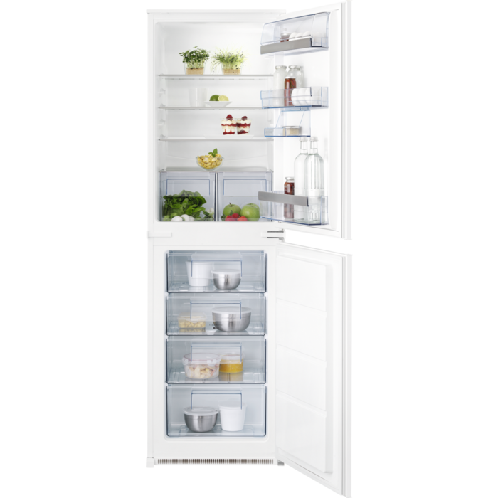 AEG - Integrated fridge freezer - Built-in - SCS51813S1