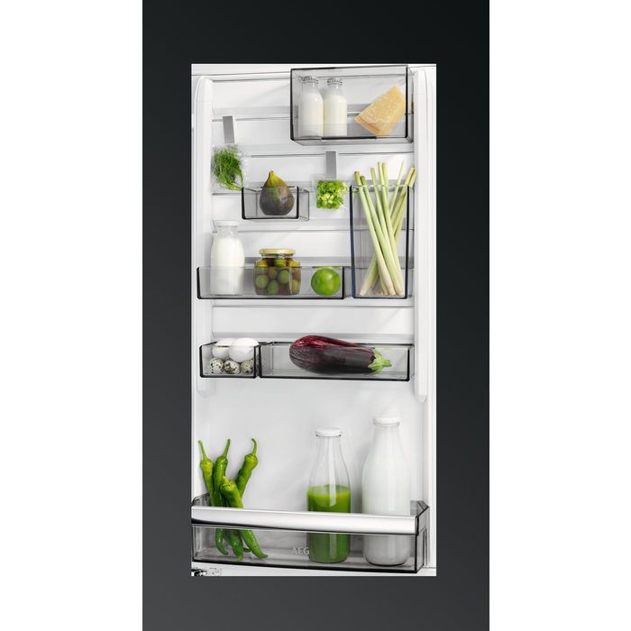 AEG - Integrated fridge freezer - Built-in - SCE81824TS