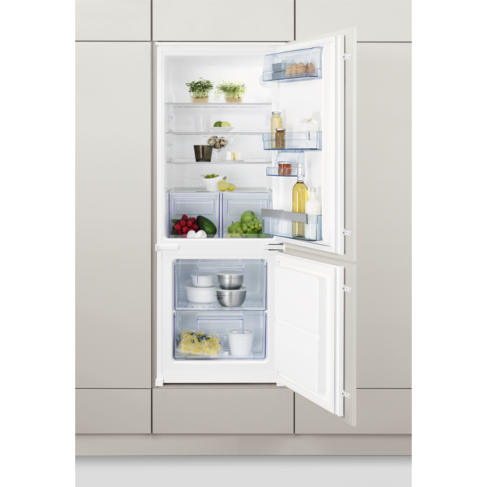 AEG - Integrated fridge freezer - Built-in - SCS61400S2