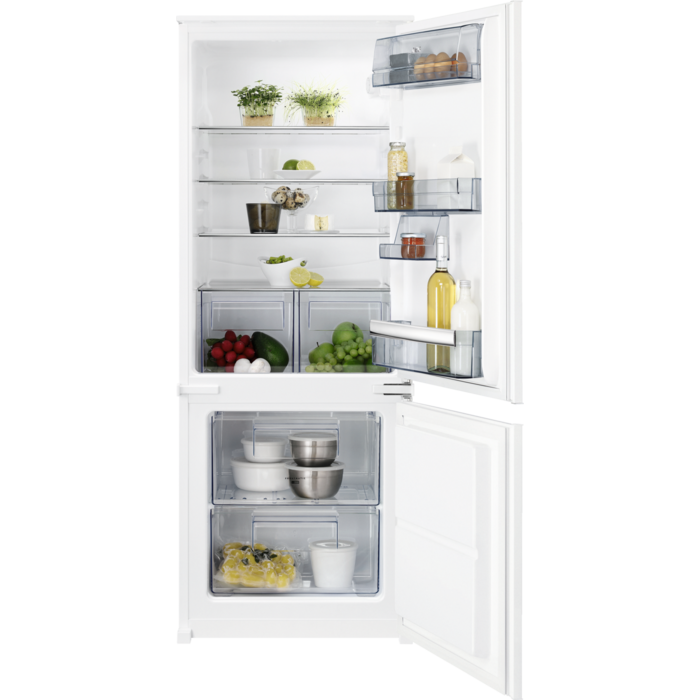 AEG - Integrated fridge freezer - Built-in - SCB51421LS