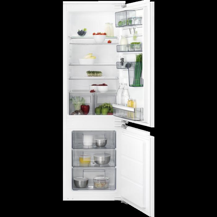AEG - Montuojamas šaldytuvas su šaldikliu - Montuojama - SCB61824LF