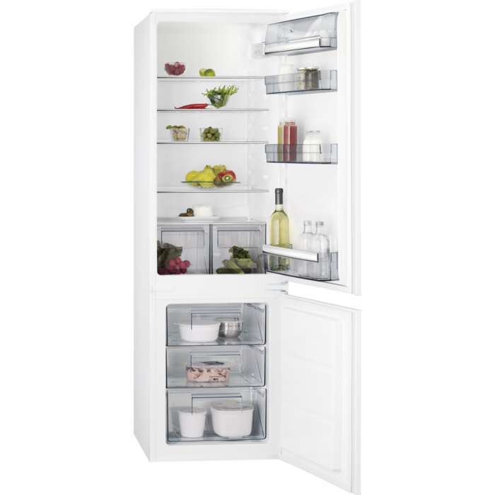 AEG - Integrated fridge freezer - Built-in - SCS6181LLS
