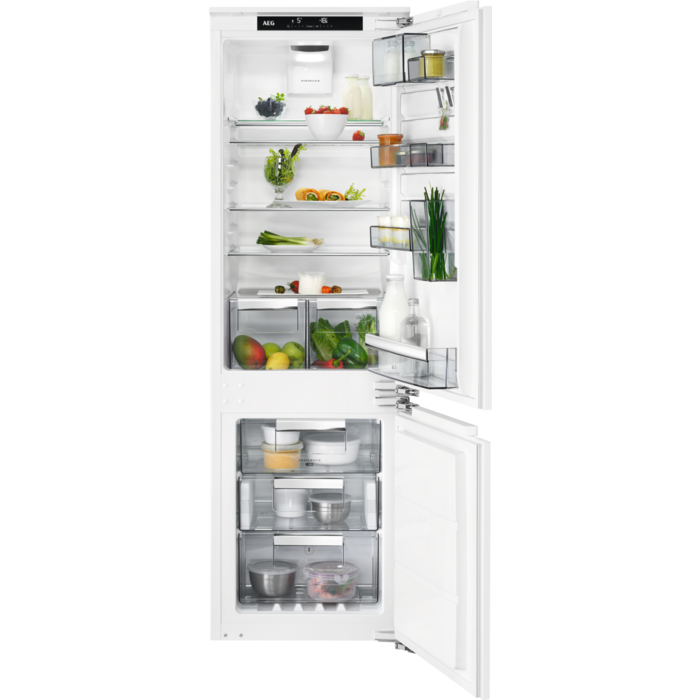 AEG - Integrated fridge freezer - Built-in - SCE81864TC