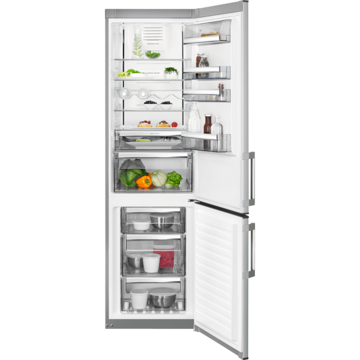 AEG - Voľne stojaca chladnička s mrazničkou - RCB63726OX