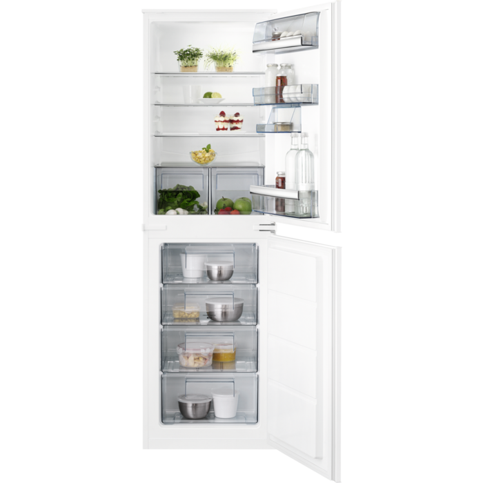 AEG - Integrated fridge freezer - Built-in - SCB61812LS