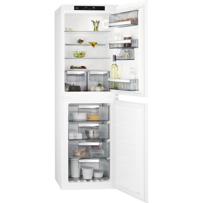 AEG - Integrated fridge freezer - Built-in - SCS8181ENS