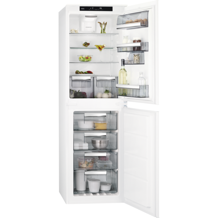 AEG - Integrated fridge freezer - Built-in - SCE81827TS