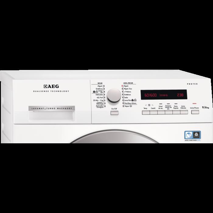 AEG - Máquina de lavar e secar de livre instalação - L75695NWD