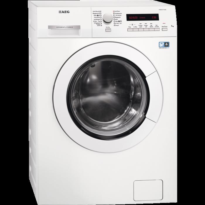 AEG - Freistehende Waschtrockner - L75674NWD