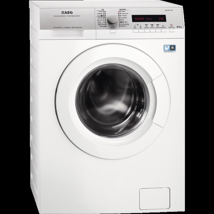 AEG - Vaske-tørremaskine - L76684NWD