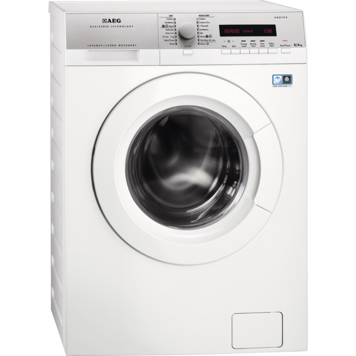 AEG - Freestanding washer dryer - L76684NWD