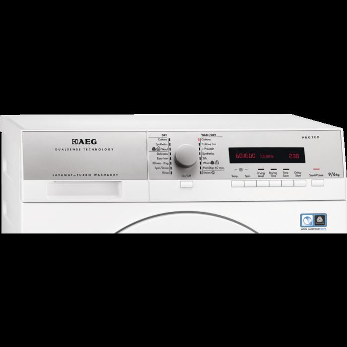 AEG - Freestanding washer dryer - L77695NWD