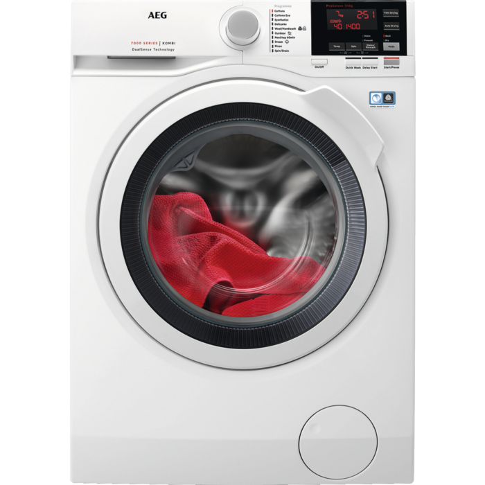 AEG - Freestanding washer dryer - L7WBG741R
