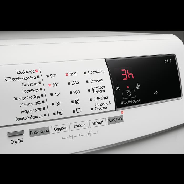 AEG - Πλυντήριο ρούχων εμπρόσθιας φόρτωσης - L68280VFL