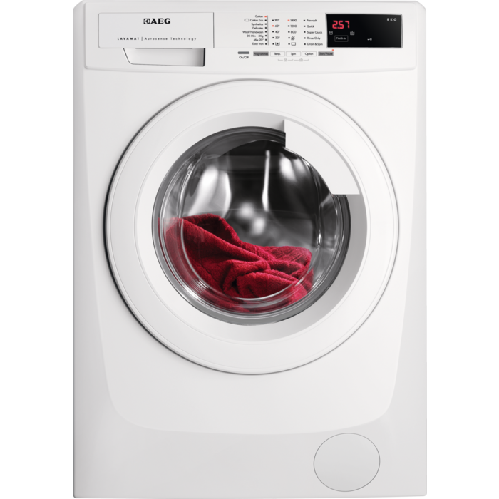 AEG - Front loader washing machine - L68480FL