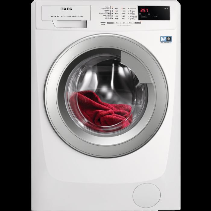 AEG - Edestä täytettävä pyykinpesukone - LFL64704