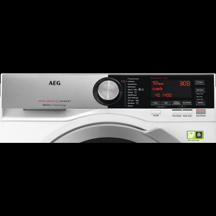 AEG - Front loader washing machine - L8FEC966R