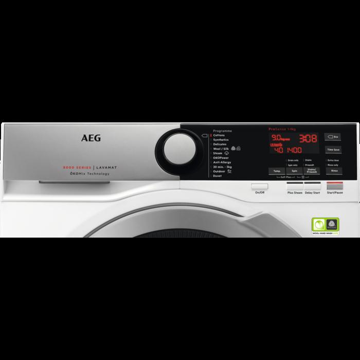 AEG - Front loader washing machine - L8FEE945R