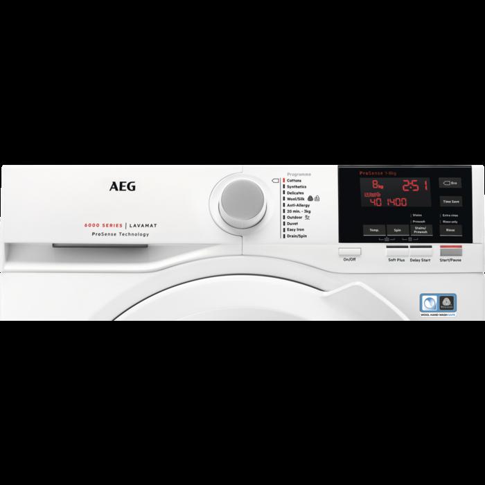 AEG - Front loader washing machine - L6FBG861R