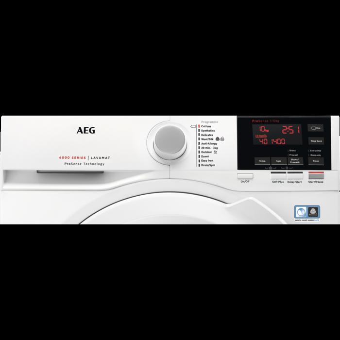 AEG - Front loader washing machine - L6FBG141R