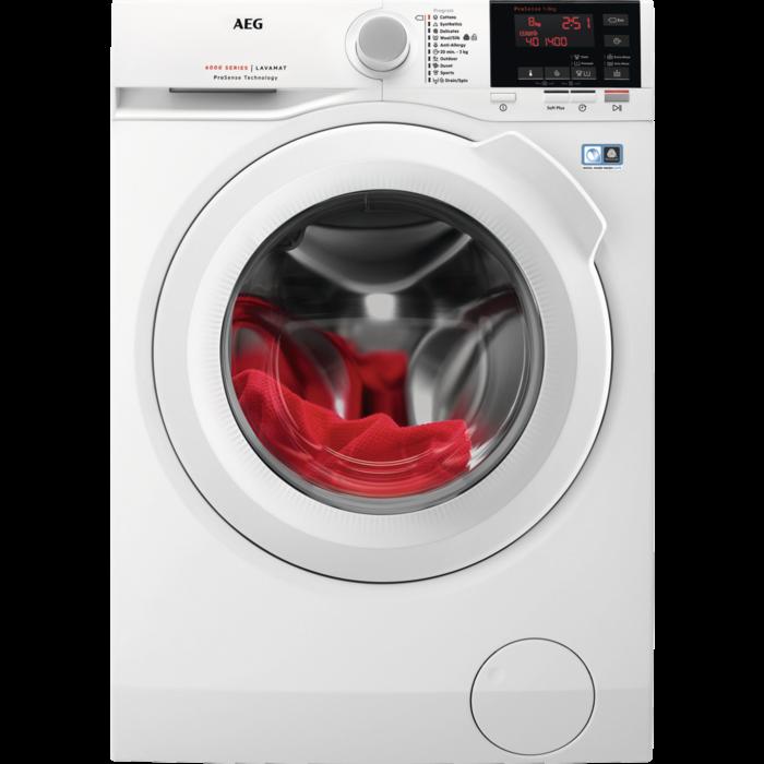 AEG - Frontmatad tvättmaskin - L6FBN842G
