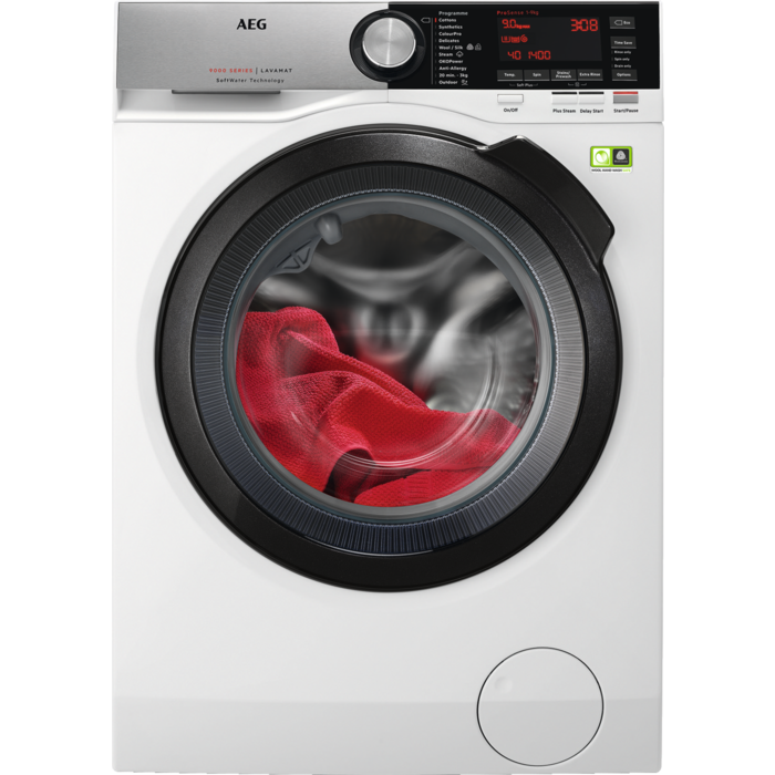 AEG - Front loader washing machine - L9FSC949R