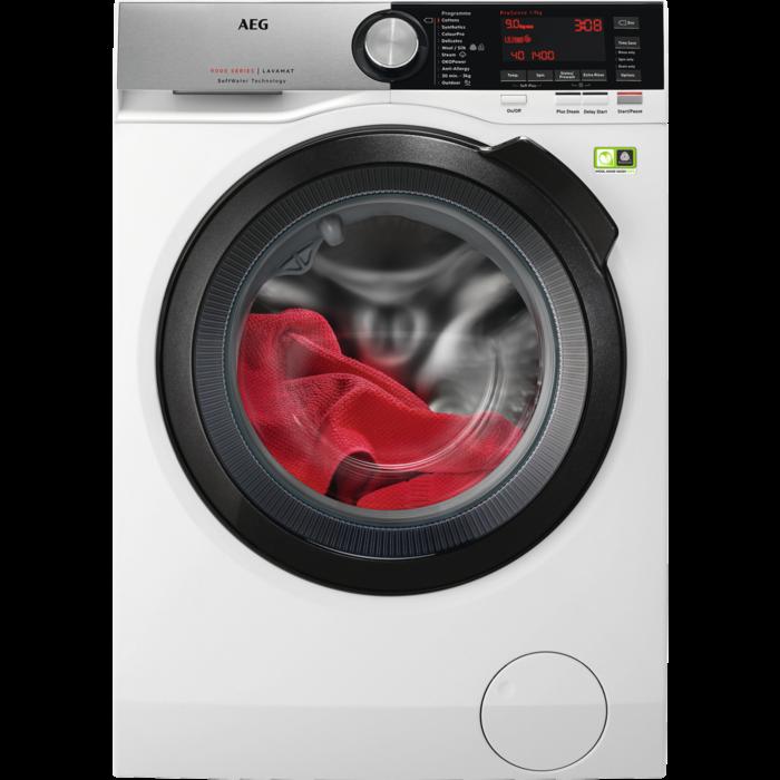 AEG - Front loader washing machine - L9FSC969R