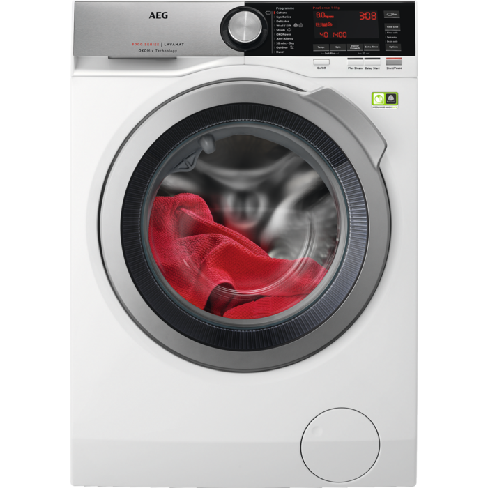 AEG - Front loader washing machine - L8FEC846R