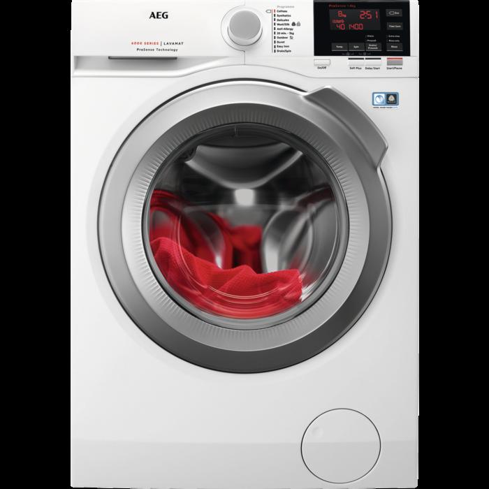 AEG - Front loader washing machine - L6FBG842R
