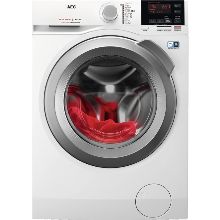 AEG - Front loader washing machine - L6FBG942R