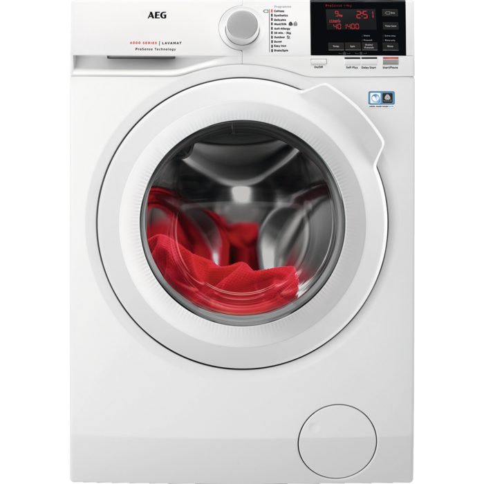 AEG - Front loader washing machine - L6FBG941R